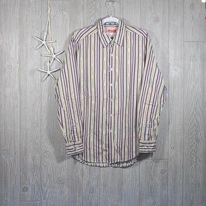 Robert Graham Freshly Laundered Shirt Stripe L
